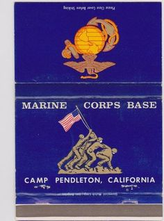 Camp Pendleton where Sam is stationed. It's located just south of San Clemente where Sabrina lives.