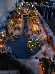 A part of WhitmanVille...Christmas Village