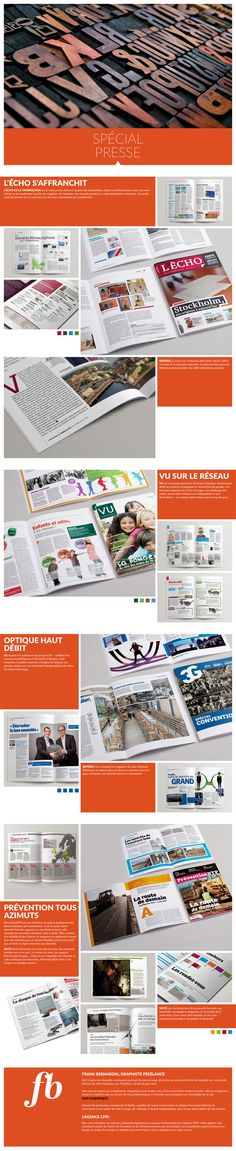 Portfolio Spécial Presse Web Design Inspiration, Graphic Design
