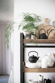 my scandinavian home: My kitchen update: HONK trolley