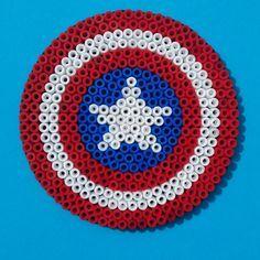 hama beads capitan america - Buscar con Google