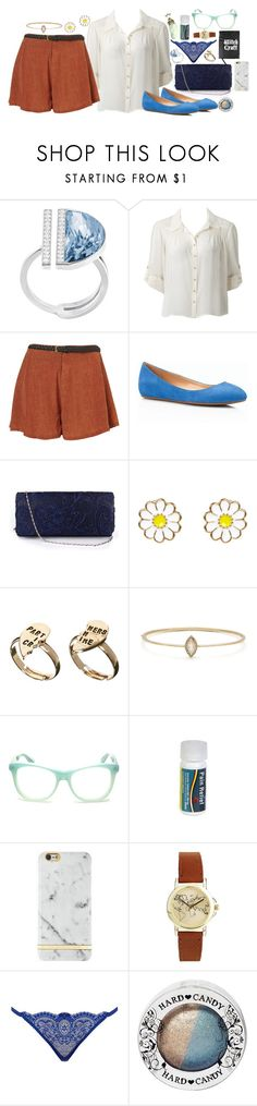 """""""Red, White, and Blue: Celebrate the Fourth 3"""" by brahski ❤ liked on Polyvore featuring Swarovski, Forever New, Goldie, Talbots, Monsoon, ASOS, Wildfox, Emily Miranda, Richmond & Finch and L'Agent By Agent Provocateur"""