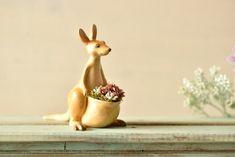 50 Unique Animal Planters To Help You Bring Nature Indoors Ceramic Animals, Clay Animals, Ceramic Art, Ceramic Pottery, Pottery Animals, Flower Planters, Garden Planters, Flower Pots, Planter Pots