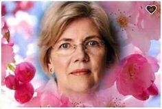 Boston MA 2/14/17 A copy photo of a Photoshopped image of Elizabeth Warren's Go Fund Me page that her supporters created called,