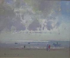British Artist Fred CUMING-Cloudscape
