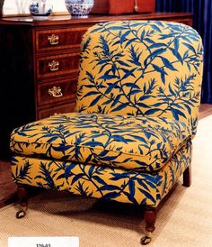 Ralph Lauren, Daniella Chair (retired / Vintage) Luxury Down Seat Cushion  And Upholstered