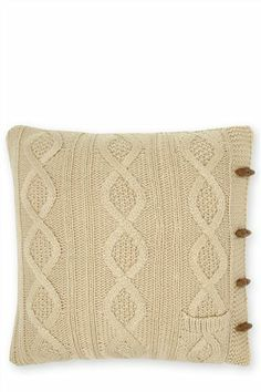 Pocket Knit Cushion from Next | £22