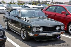 Toyota Carina coupe - Didn't know there was this beautiful Toyota model ...
