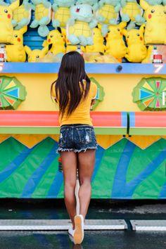 Coney island photo shoot at Luna Park