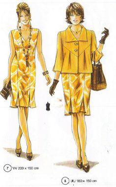 Jolie veste pour jupe ou pantalon (Lutterloh 2009)
