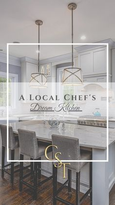 """We asked a Vienna local and owner/chef at Bazin's on Church, Patrick Bazin, what he would have in his Dream Kitchen. """"Being a Chef and owning a restaurant and catering business for 15 years I have worked in many home kitchens in the Vienna area! This is what my dream kitchen would have.  Read about all the dream items on our blog! The Casey Samson Team is a Wall Street Journal Top Team in Northern Virginia."""