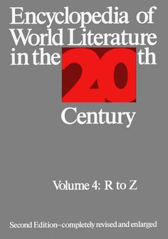 Encyclopedia of world literature in the 20th century