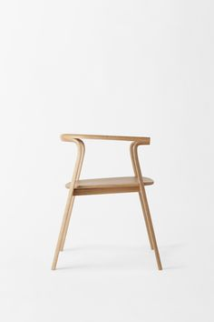 splinter armchair for Conde House by Nendo