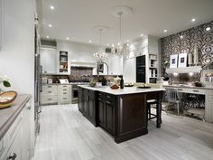Candice Olson presents amazing kitchen designs that will be perfect for any house whether you have small or large spaces using different color and styles.
