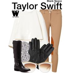 Here's an idea for an easy DIY Taylor Swift costume! Taylor Swift Costume, Taylor Swift Concert, Blank Space Taylor Swift, Fashion Outfits, Womens Fashion, Winter Fashion, Cute Outfits, Style Inspiration, My Style