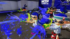 Splatoon, an upcoming online squad-based shooter for the Wii U, nearly starred Nintendo's popular plumber as the main character.