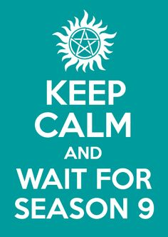 ...or cry, whine, groan, bellyache, theorize, dream, pin, pin, pin some more, and wish for October! #Supernatural