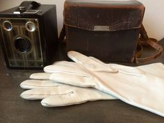 Leather Driving Gloves, Wallets, Dance Shoes, Etsy Shop, Pairs, Purses, Cream, How To Wear, Vintage