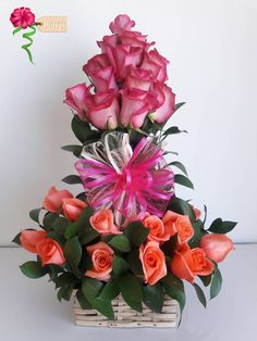 roses and lemon leaf Funeral Floral Arrangements, Easter Flower Arrangements, Rose Arrangements, Nylon Flowers, Silk Flowers, Ikebana, Memorial Flowers, Deco Floral, Flower Boxes