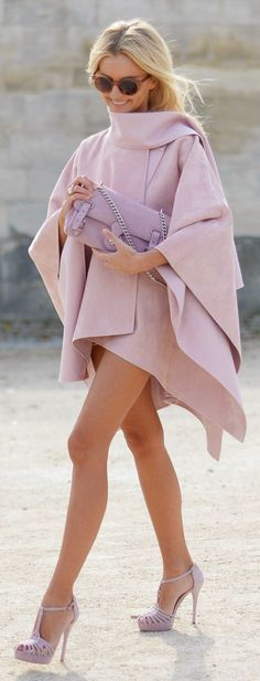Shades Of Pink Chic Style