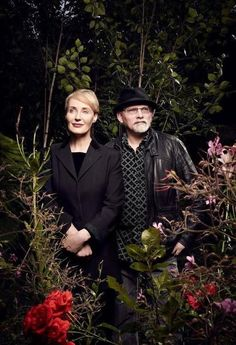 Lisa Gerrard and Brendan Perry, Dead Can Dance! Dead Can Dance, Gothic Metal, Gothic Rock, Music Film, Art Music, Lisa Gerrard, Psychedelic Bands, Clannad, Portraits