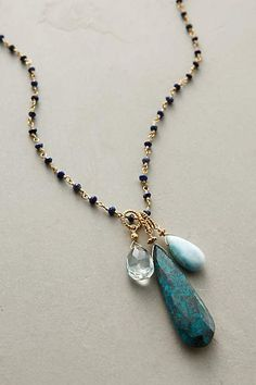Raindrops Necklace - anthropologie.com