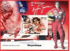 Ayrton Senna - selo de Moçambique