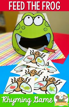 Early Literacy Rhyming Activities for Preschool and Pre-K - Pre-K Pages