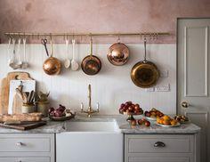 Detalhes do Céu: Cozinha rosa