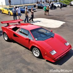 1983 Lamborghini Countach is fantastic.