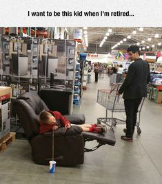 I'd Like To Be This Kid When I'm Retired