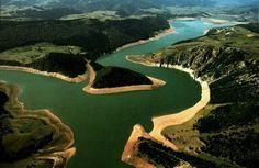Zlatarsko jezero, Serbia.