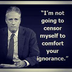 Jon Stewart quote / Free Yourself