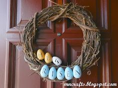 Quick & Easy Easter Wreath