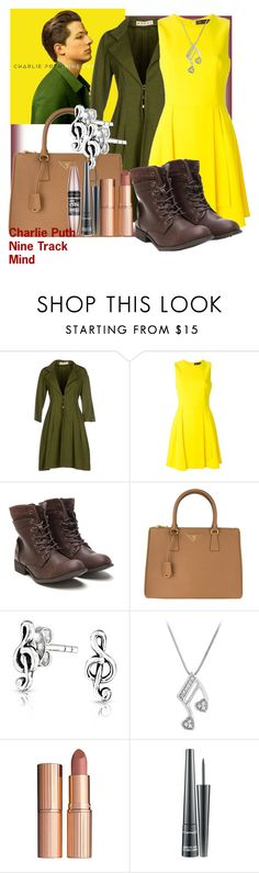 """""""Charlie Puth Nine Track Mind"""" by geekyandnerdyfashion ❤ liked on Polyvore featuring Marni, Versace, Prada, Bling Jewelry, Charlotte Tilbury, MAC Cosmetics and Maybelline"""