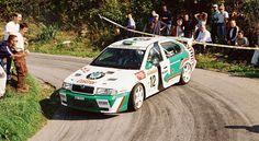 San Remo 1999 - Triner Emil - Hůlka MilošiconŠkoda Octavia WRC