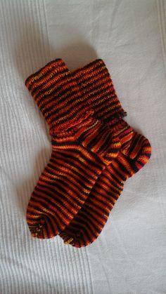Socken aus Tausendschön - Wolle