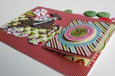 Virginia's Scrappy Place: Christmas Peek-a-boo card