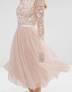 Needle & Thread | Needle & Thread Embellished Buttefly Midi Dress at ASOS