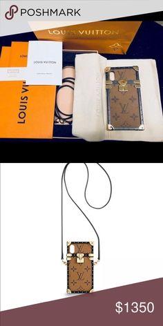 35ff2530527c New Authentic Louis Vuitton reverse iPhone X Case Selling a new authentic  Louis Vuitton Eye Trunk