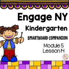 This is a SmartBoard activity that directly correlates with the Kindergarten Engage NY Math Module 5 Lesson 14 (Show, count, and write to answer how many questions with up to 20 objects in a circular configurations). This lesson includes activities and games for the lessonCheck out the Module 5 bundle hereModule 5 BundleWant to try a lesson for FREE before you buy?