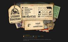 Vintage / Retro web design