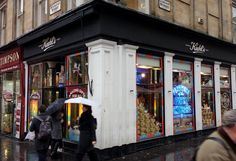 Glasgow is home to the largest Kiehl's store outside of New York.
