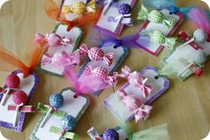 Sweet Shoppe / Candyland Party Favors ~ diy Cute Candy Hair Pretties