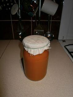 noga w kuchni: Dyniowe puree.