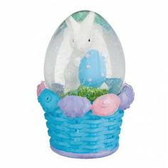 This waterball makes a lovely Easter decoration or gift.