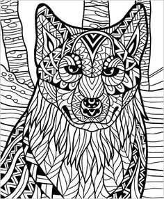 ColorIt Wild Animals Coloring Book Premium Hardcover With Top Spiral Binding Grown Up Features 50 Original Hand Drawn Animal Pages