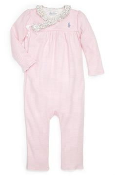 Ralph Lauren Romper (Baby Girls) available at #Nordstrom