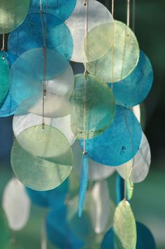 Crazy about the sound of these kind of Windchimes in my garden