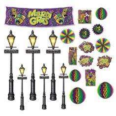 Mardi Gras Decoration Props from Windy City Novelties